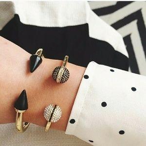 💎💎18k Gold Pave Spiked Bracelet